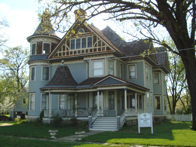 George Barber house in Osawatomie Kansas.