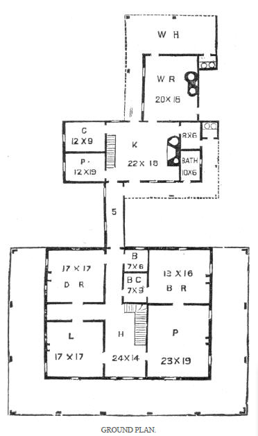 Historic plantation floor plans house plans home designs Old plantation house plans