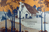 California bungalows 1920s.